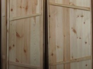 Двери банные (сосна)