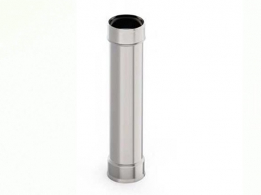 Труба 0.5 метра 1.0 мм нержавейка