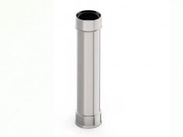 Труба 1 метр  0.5 мм нержавейка