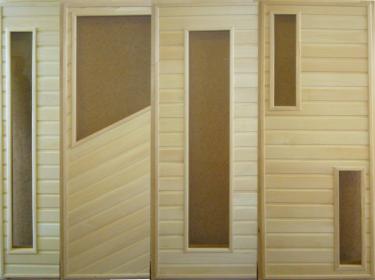 Двери банные (липа)