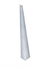 Планка угла внутреннего 75х75 оцинкованный