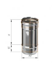 Труба нерж 0.25м (430/0.8 мм) ф120