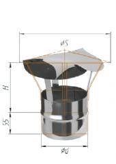 Зонт (430/0.5мм) ф115