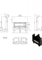 Шибер-задвижка ф140  1.0мм
