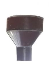 Воронка водосточная d100, Ral 3005