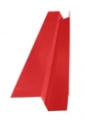 Желоб водосточный квадратный с полкой 2м, Ral 3011