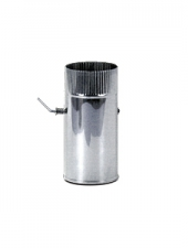 Шибер d 130, 1.0 мм нержавейка