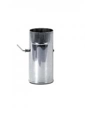 Шибер d 180, 1.0 мм нержавейка