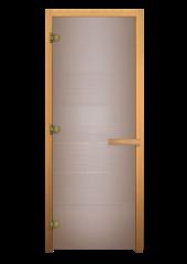ДС Сатин Матовая 1900х700мм (6мм, 2 петли 716 GB) Хвоя