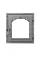 Дверка ВЕЗУВИЙ каминная 270 (не крашенная, без стекла)