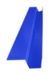 Желоб водосточный квадратный с полкой 2м, Ral 5005