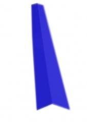 Планка угла наружного 75х75 RAL 5005