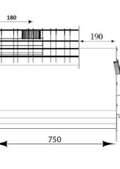 Отвод 135* ф110. 1.0мм. нерж