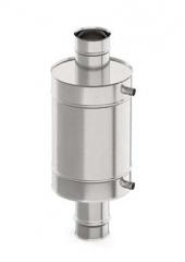 Теплообменник 15 л. ф 120 нержавейка 1.0мм