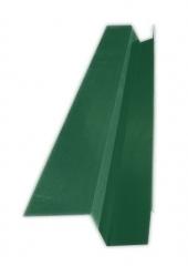 Желоб водосточный квадратный с полкой 2м, Ral 6005