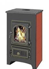 Печь-камин Везувий ПК-01 (270) красный