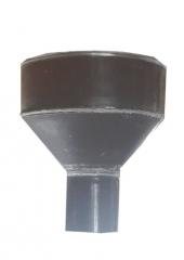 Воронка водосточная d100, Ral 8017