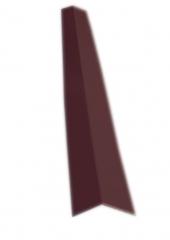Планка угла наружного 75х75 RAL 8017
