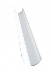 Желоб водосточный полукруглый 1.25м, Ral 9003