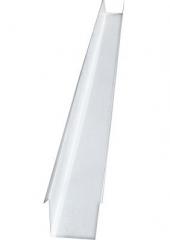 Желоб водосточный квадратный 2м, Ral 9003