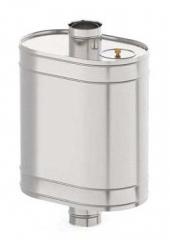 Бак на трубе 50 литров
