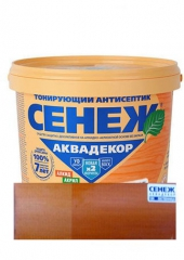 "CЕНЕЖ ""АКВАДЕКОР-104 лиственница"" 2.5 кг"