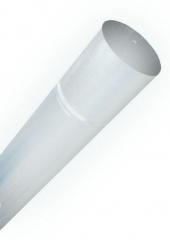 Труба водосточная d100, Ral 9003, 1 метр