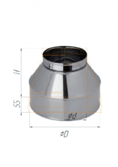 Конус нерж (430/0,5 мм) ф115х200
