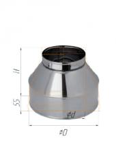 Конус нерж (430/0,5 мм) ф120х200