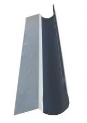 Желоб водосточный полукруглый с полкой 1.25м, оцинкованный