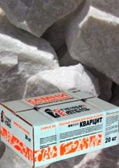 Кварцит серый колотый (коробка 20 кг)