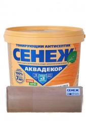 "CЕНЕЖ ""АКВАДЕКОР-102 бесцветный"" 0.9 кг"