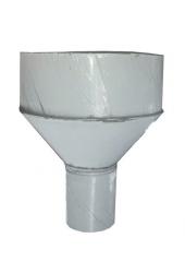 Воронка водосточная d120, Ral 9003